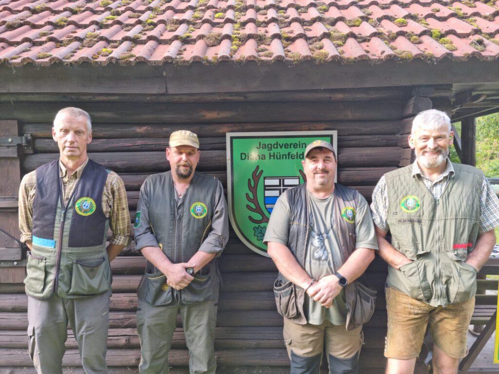 v.l.n.r Matthias Möller, Thomas Kremer, Andreas Maul und Stefan Hildenbrand, Foto: Iris Morkel